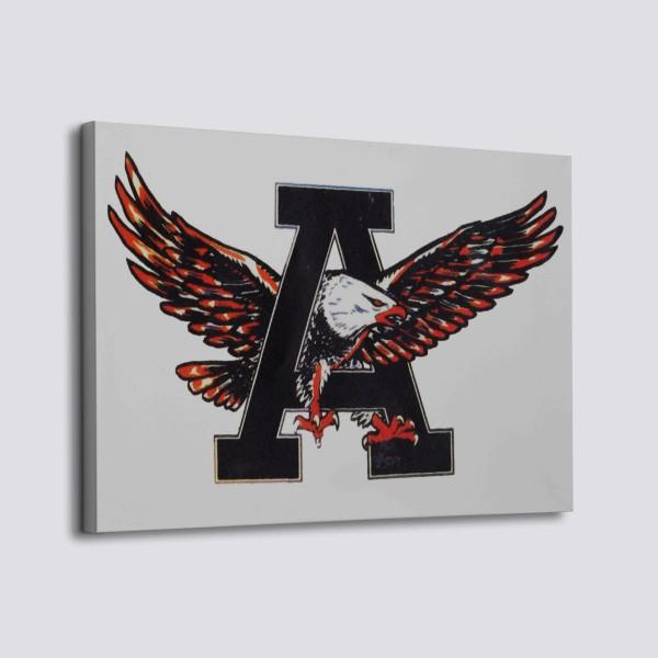 1950 Auburn Tigers Canvas