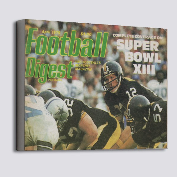 d85a6e598 1979 Pittsburgh Steelers ad Canvas