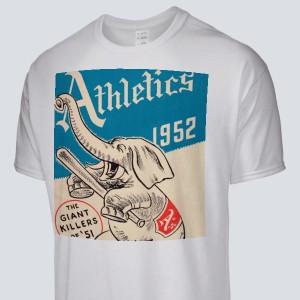c2a1df7344530 1952 Philadelphia Athletics program Men s T-Shirt