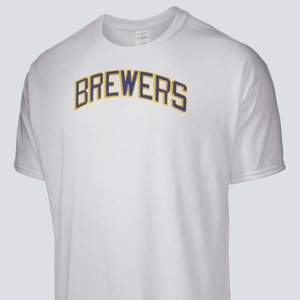 online store eb314 d57d1 1982 Milwaukee Brewers Men's T-Shirt