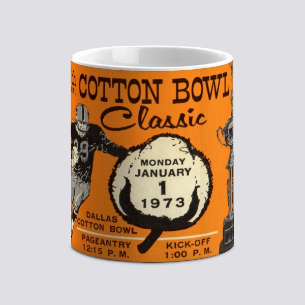 1973 Cotton Bowl Mug