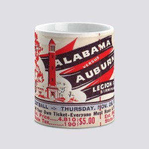 1964 Auburn vs. Alabama Mug