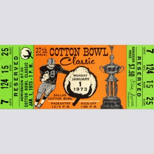 1973 Cotton Bowl Mug By Vintage BrandTM