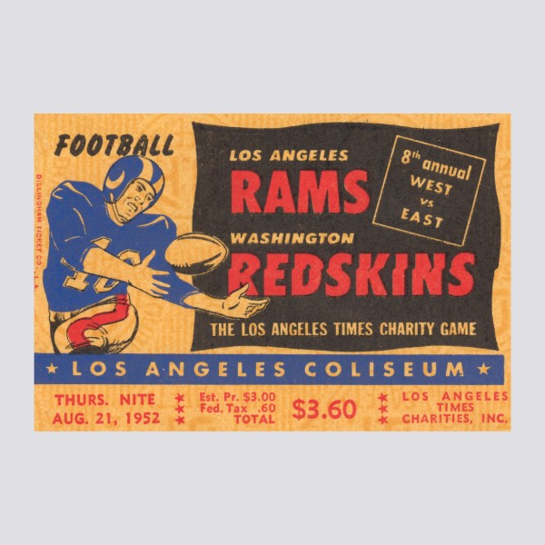1952 Los Angeles Rams Poster