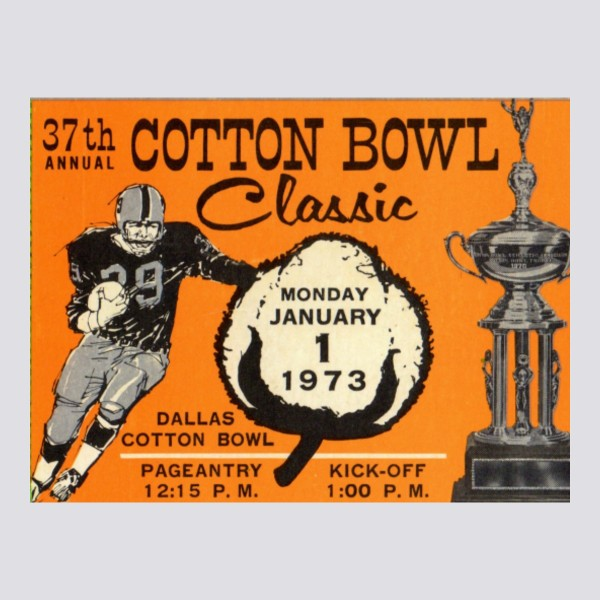 1973 Cotton Bowl Poster