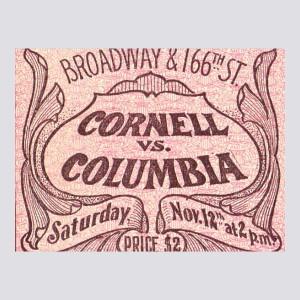 1904 Cornell vs. Columbia Poster
