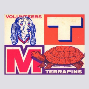 1957 Tennessee vs. Maryland Poster