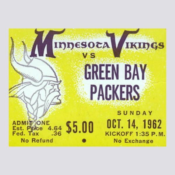1962 Minnesota Vikings ad Poster