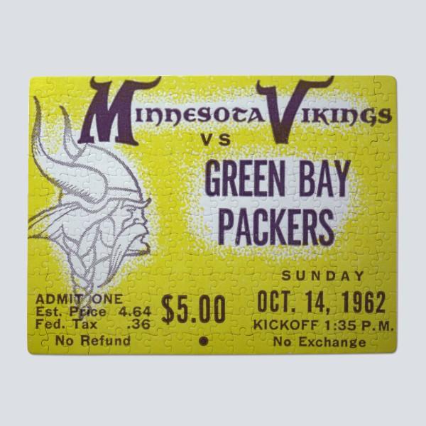 1962 Minnesota Vikings ad Puzzle