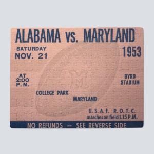 1953 Alabama vs. Maryland Puzzle