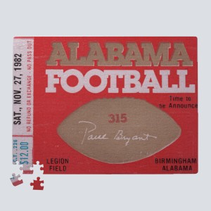1982 Auburn vs. Alabama Puzzle