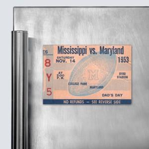 1953 Mississippi vs. Maryland Magnet