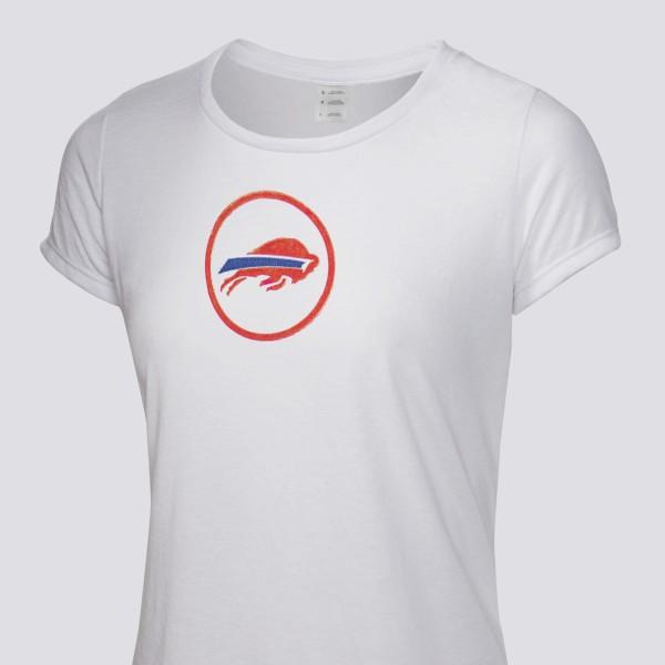 6e2e8c01 1976 Buffalo Bills Women's T-Shirt