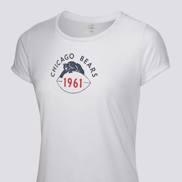 f1334b19 1961 Chicago Bears Women's T-Shirt
